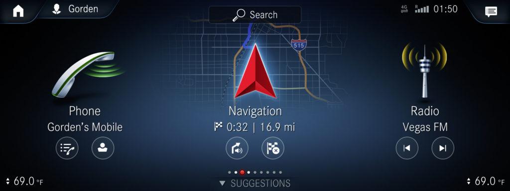 MBUX (Mercedes-Benz User Experience). Innovativ teknik baserad på artificiell intelligens. Intuitivt driftskoncept. Augmented reality-teknik. Pekskärm. Språkassistent - Hej Mercedes