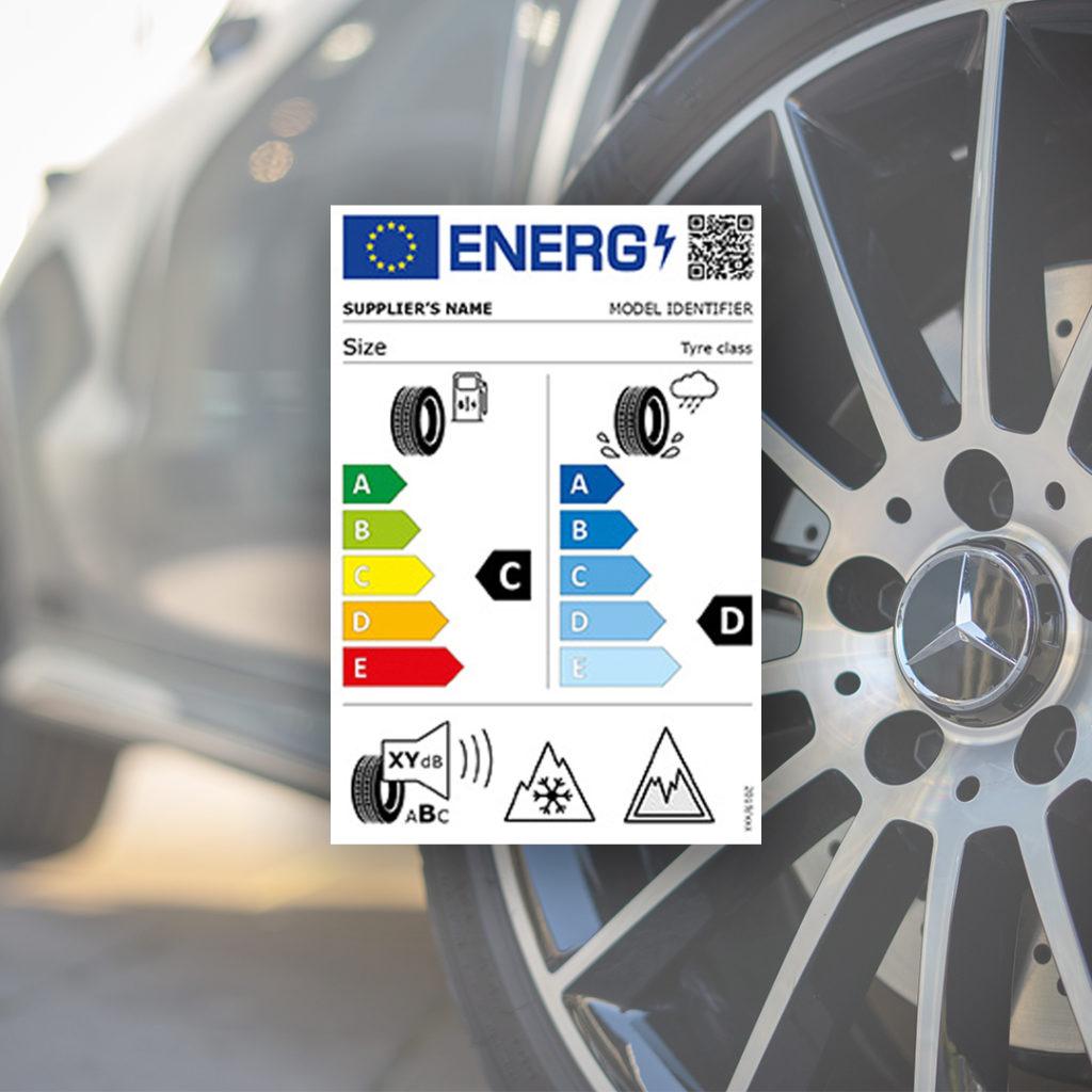 ny märkning av däck